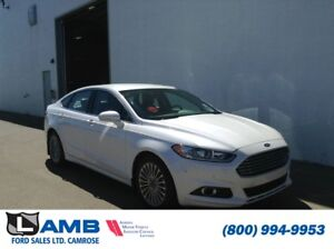 2015 Ford Fusion Titanium AWD with Active Park Assist, Navigatio
