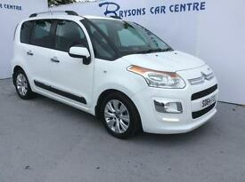 CITROEN C3 PICASSO 1.6 HDi 8V Exclusive (white) 2014