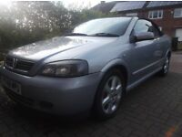 Astra convertible bertone mk4/G 2001 silver 1.8 16v leather interior, breaking, parts only