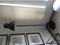 Ikea HEKTAR Floor lamp, dark grey Excellent condition