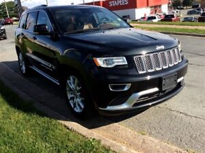 2016 Jeep Grand Cherokee SUMMIT / LEATHER / LOADED / LUXURY / 4X