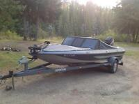 1987 Procraft with 150HP  RX4 Black Max Mercury outboard