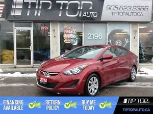 2014 Hyundai Elantra GLS ** Bluetooth, Heated Seats, Sat Radio *