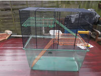 gerbil/rodent cage