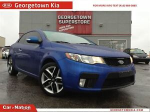 2010 Kia FORTE KOUP 2.4L SX LEATHER| SUNROOF| ALLOY WHEELS| HEAT