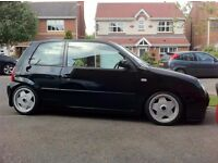 Borbet A deep dish alloy wheels, 4x100, Vw Golf MK 1 2 3, Lupo, Caddy Seat