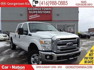 2011 Ford F-250 XLT FX4 CREW CAB| 8FT BOX| 6 SEATER| CLEAN CARPR