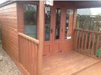 Fantastic garden shed large suit any garden childs Wendy house?