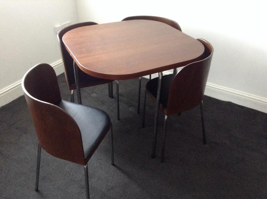 The Way These Chairs Fit The Table Oddlysatisfying