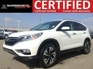 2015 Honda CR-V Touring AWD | NAVI | LED | HEATED LEATHER | AC