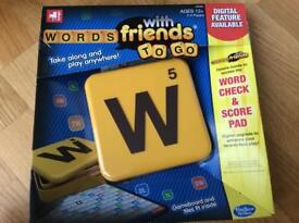 Words with friends new and sealed