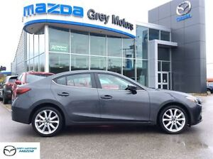 2014 Mazda MAZDA3 GT-SKY, Auto, Heated Leather, Sunroof, One Own