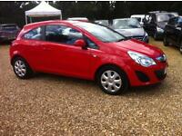 Vauxhall Corsa 1.2 ecoFLEX Exclusiv 3dr [Start Stop] (red) 2012