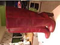 ladies long leged boots