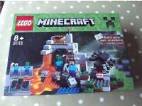 LEGO 21113 Minecraft The Cave Complete & Offered in VGC - cash on collection from Gosport Hampshire