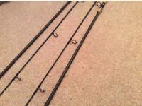 X2 Wychwood c101 12ft 3lb test curve Cork handled