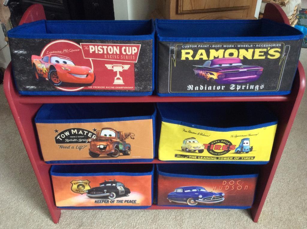 Pixar Cars Storage Unit
