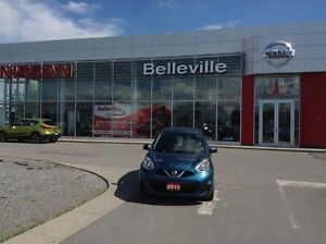 2015 Nissan Micra SV 1 OWNER LOCAL TRADE