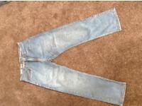 "Supply Co Jeans 34"" waist X 30"" leg"