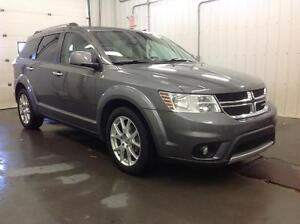 2012 Dodge Journey R/T Loaded with Rear DVD and Extended Warrant Edmonton Edmonton Area image 3