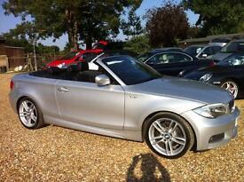 BMW 1 Series 123d M Sport 2dr (silver) 2012