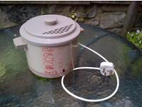 'Tower' compact fryer