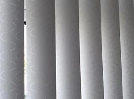 White Blackout Blinds for Patio Doors
