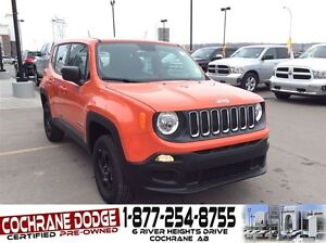 2016 Jeep Renegade Sport - MANAGER DEMO SPECIAL!!!