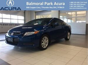 2012 Honda Civic EX 5 Spd Manual Only $114 Bi-Weekly!!