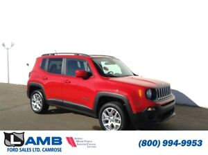 2015 Jeep Renegade North 4x4 with Backup Camera, Remote Start an