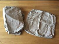 IKEA Ektorp 2 Seater Sofa Cover - Beige (used)