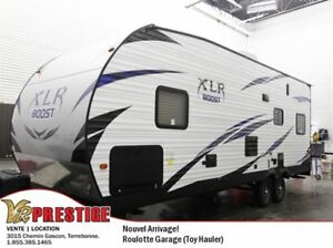 2017 Forest River XLR Boost 27QB VENDU/SOLD Cargo Garage / Toy H