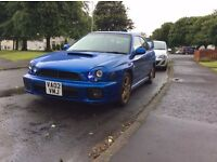 Subaru imprezza wrx uk limited