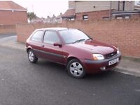 2002 Ford Fiesta 1.25 Freestyle, 56k Miles. Mot June 18. £375. (P/X Welcome)