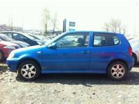 VOLKSWAGEN POLO 1.4 TDI DIESEL , , 1 YEAR MOT , , GOOD RUNNER , , CHEAP CAR