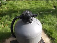 Pressure Bead/Sand Filter - For Pond or Swimming Pool