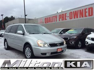 2012 Kia Sedona LX | ONE OWNER | CLEAR CAR PROOF