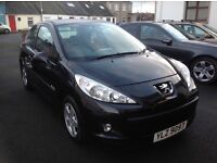 2010 peugeot 207 1.4 HDI verve diesel ***57,000 miles*** (not clio 307 206)