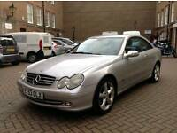 MERCEDES CLK 320 AVANTGARDE AUTOMATIC 53 REG **EXCELLENT CONDITION** 1 YEAR MOT **NEWER SHAPE**