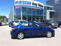 2012 Mazda MAZDA3 GS-SKY, Heated Leather, P. Sunroof, Low kms!!