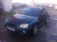 Subaru Impreza GX 2003 BLACK