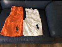 2 pairs Ralph Lauren shorts immaculate condition