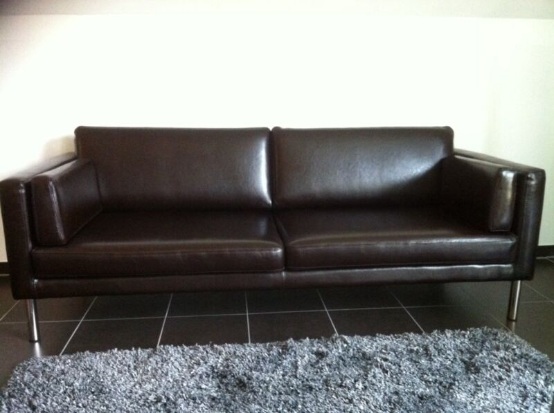 ikea s ter echtleder sofa in nordrhein westfalen kleve ebay kleinanzeigen. Black Bedroom Furniture Sets. Home Design Ideas