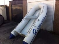 7ft dingy with oars
