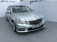 MERCEDES-BENZ E CLASS E220 CDI BlueEFFICIENCY Sport Tip Auto [7] (silver) 2012