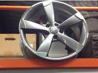 """18"""" AUDI TTRS ALLOYS 5x112 FITMENT, 4 WHEELS BRAND NEW AUDI VW SEAT SKODA"""