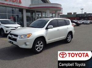 2011 Toyota RAV4 LIMITED 4X4 MOON ROOF LOW KM'S MINT CONDITION