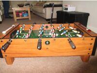 Table top bar football