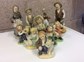 Lovely Collection Of Ten Figurines
