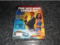 THE SPY WHO LOVED ME COMMODORE CBM 64 GAME